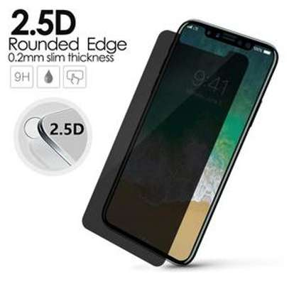 5D Full Glue Anti-spy Privacy Screen Protector For iPhone X Xs XR XS Max image 4