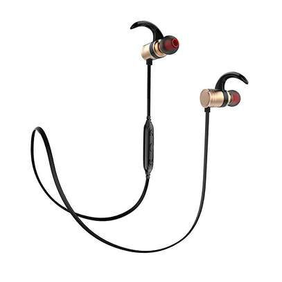 Awei AK7 Water-proof Magnetic Adsorption Wireless Bluetooth Earphones image 1
