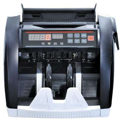 Money Counter, Bill Counting Machine with UV/MG/IR Detection, Counterfeit Bill Detection, Batch Mode, 1,000 Notes Per Minute, LED Display - Doesn't Count Value of Bills image 1