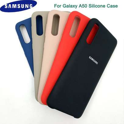 Silicone case with Soft Touch for Samsung A70,A60,A50,A40,A30,A20 image 10