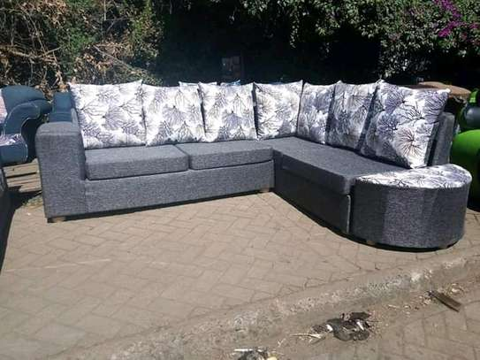 L-shape 6seater ready made image 1