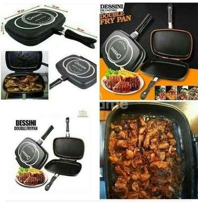 Double Grill Pan Dessini image 1