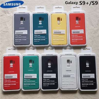 Silicone case with Soft Touch for Samsung S9 S9 Plus image 5