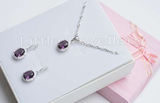 Sterling silver necklace sets perfect for mother's day!! image 5