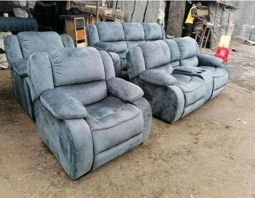7seater semi recliner sofa image 1
