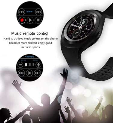 Sports Fitness Bluetooth Smart Watch Pedometer supports sim card image 5