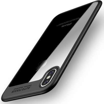 AUTO FOCUS Transparent Shockproof Silicone Phone Case For iphone x xs max xr Coque Cover For iphone 6 7 8 6splus 7plus image 4