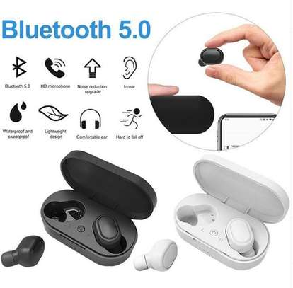 Mini Bluetooth wireless double headset image 1