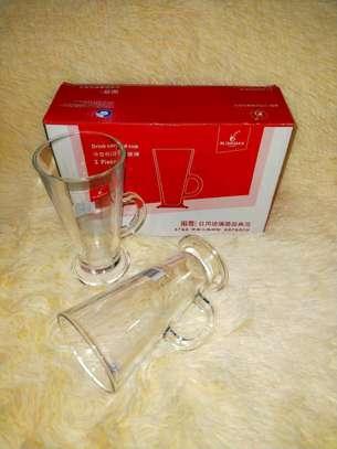 Latte Glasses Set...6 pieces image 1
