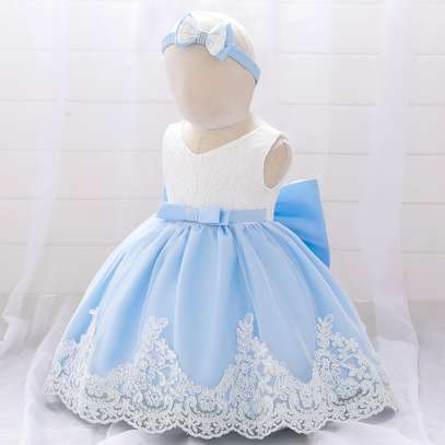 Multi-layer Girl's Dress  (3months-2yrs) image 1