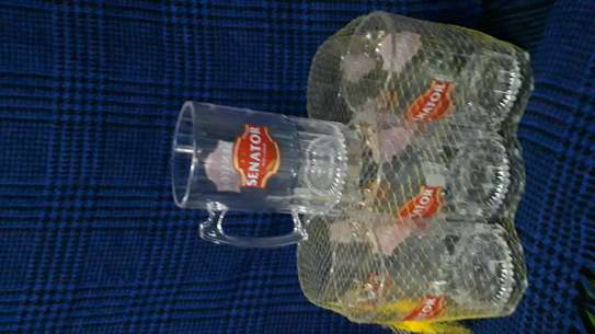 12pc  Senator keg glass/Acrylics glass/300ml Acrylic glass image 1