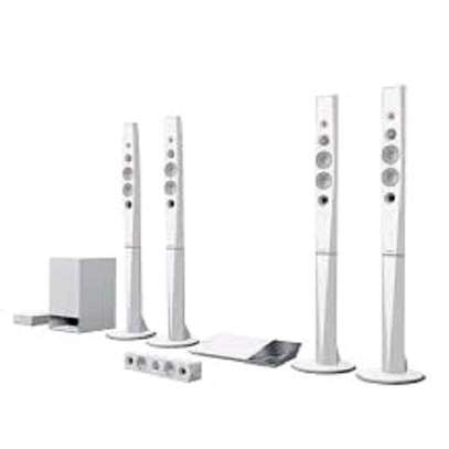 Sony BDV-N9200WL - 5.1ch Blu-ray 3D Smart Home Theatre System - 1200W - White image 1