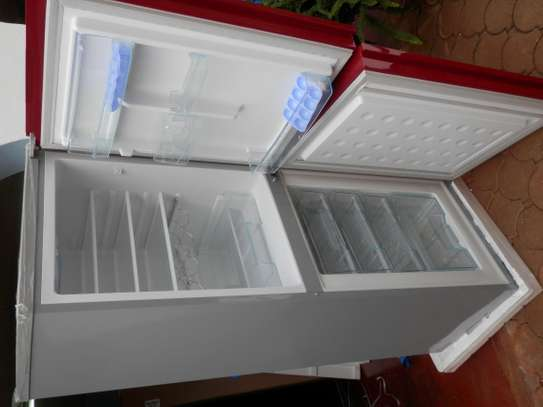Huamei Two and Three Door Fridges for Sale image 3