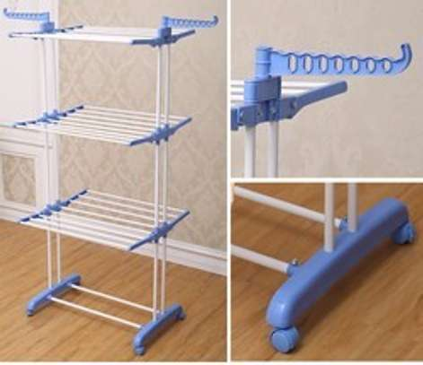 Vertical Outdoor Cloth Drying Rack image 2