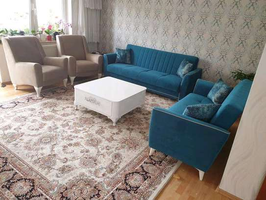Seven seater sofa/three seater sofa/two seater sofa/single seater sofa/blue sofa designs/best sofa ideas/sofas for sale in Nairobi Kenya image 1