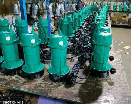 Submersible water pumps image 1