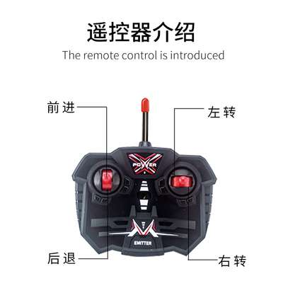 Children's remote control toy rock climber car image 3