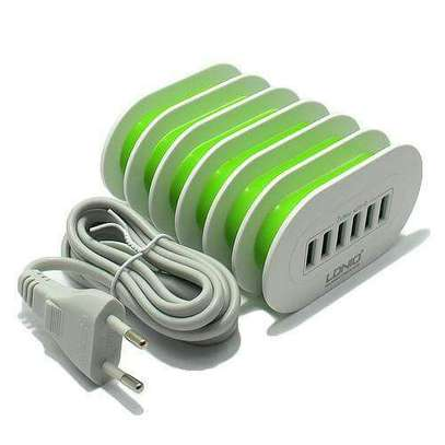 LDNIO A6702 6 USB 5V / 7.0A Quick Charge Desktop Charger image 2
