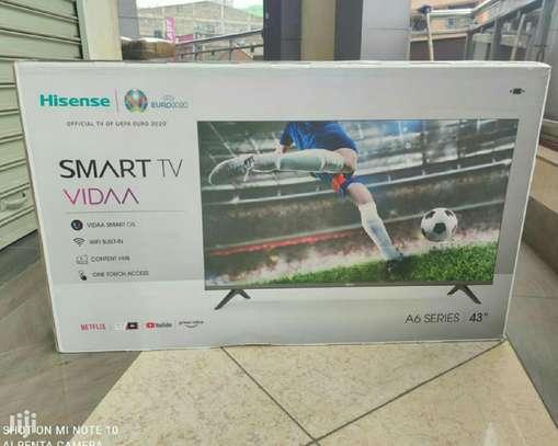 Hisense 43 Inch Android Smart Frameless Full HD Led TV -New Model image 1