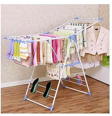 Portable cloth drying rack image 1