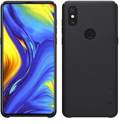 NILLKIN Super Frosted Shield Back Cover For Xiaomi Mi Mix 3 image 1