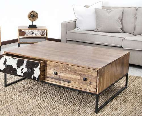 Odds and Ends TV stand. Holstein 2 drawer entertainment unit
