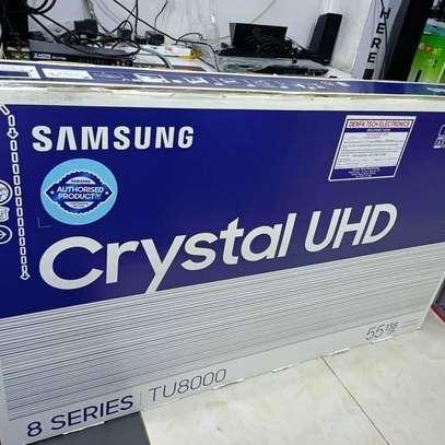 55 Samsung UHD 4K smart Crystal Television image 1