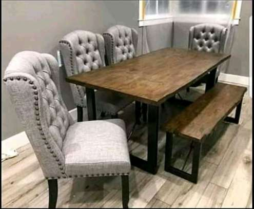 wingback dinning sets