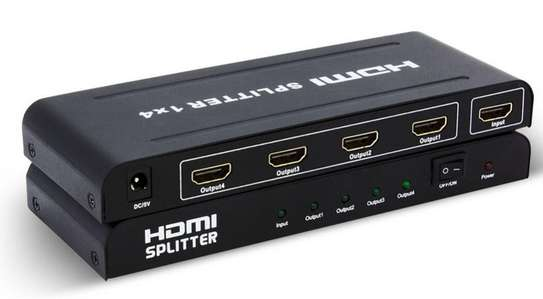 HDMI Splitter 1X4 up to 1080P Support 3D image 1