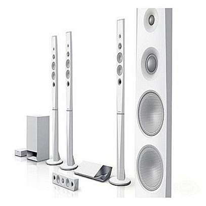 Sony BDV-N9200WL - 5.1ch Blu-ray 3D Smart Home Theatre System - 1200W - White