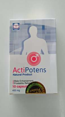 Actipotens, Restore Male Health Naturally image 1