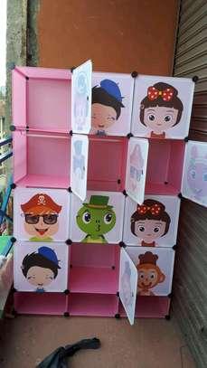 Kids plastics wardrobe image 1