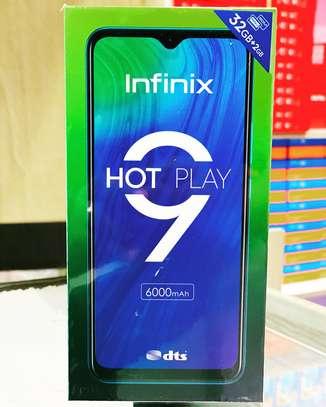Infinix HOT 9 PLAY, 6.82', 32+2, 6000mAh, 4G, Dual Sim image 1