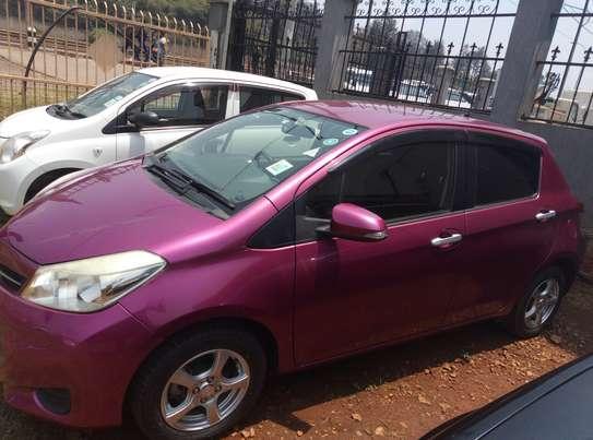 Toyota Vitz (Jewela) 2011 Purple For Sale In Nairobi image 2
