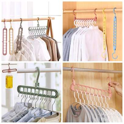 Trouser hangers and multiple hangers image 1