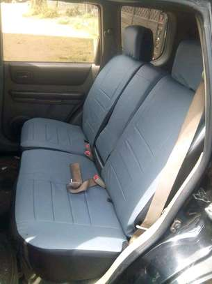 GREY CAR SEAT COVERS image 13