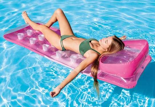 18-pocket Fashion Mats Swimming Floater image 1