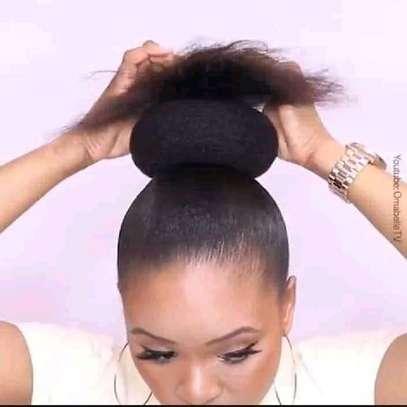 HAIR BUNS image 4