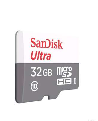 Sandisk 32GB Ultra Micro SD Card (SDHC) + Adapter - Class 10 image 3