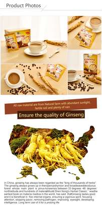 4 in 1 Ginseng Coffee; 20 Sachets/ Box, by BF Suma image 4