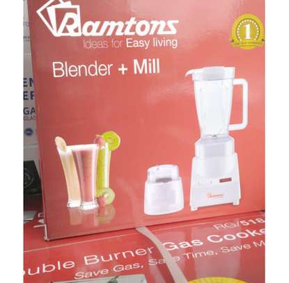 Ramtons Blender 2 in 1 With Mill image 1