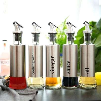 Oil Dispenser Bottles Set