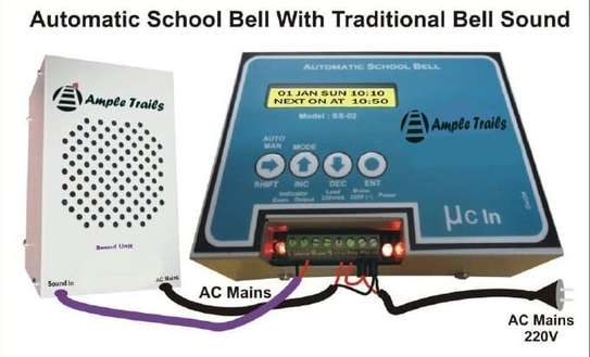 AUTOMATED SCHOOL BELL 50 METERS LOUDNESS