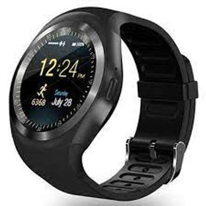 Y1 Smart Watch With Mpesa Menu And Camera- image 1