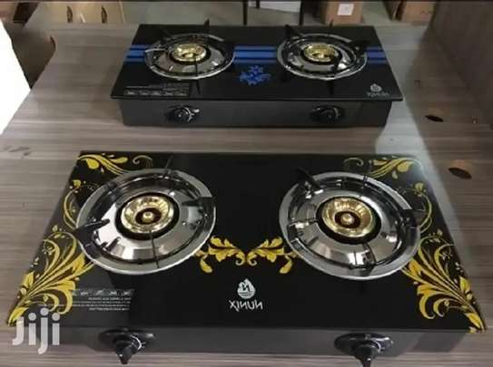 Tampered Glass Gas Table Cooker Nunix GG -003 image 1