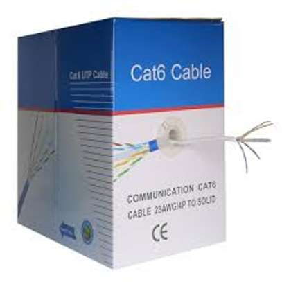 cat 6E network cable