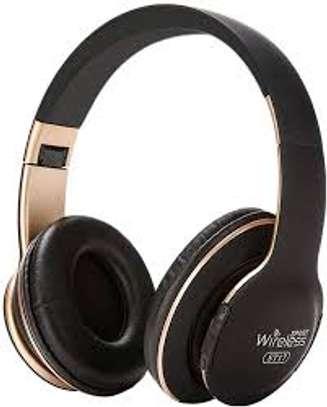 Wireless Headset Card Radio Multi-Function Stereo Bluetooth ST17 headphones image 1