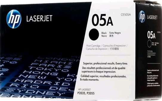 05A toner cartridge black only CE505A printer number P2055 P2035 image 5