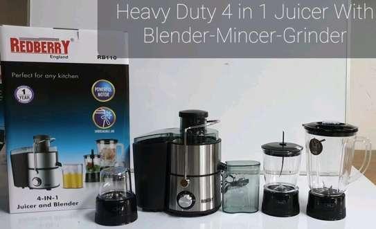 Juicer/blender 4 in 1 image 1