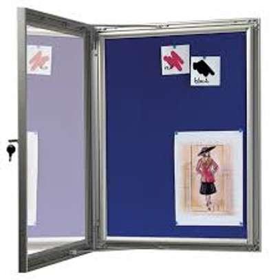 Lockable noticeboards image 1